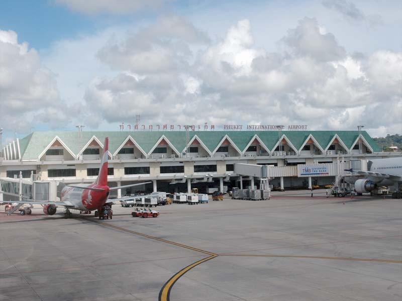 Международный аэропорт Пхукета.