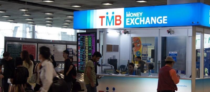Обменный пункт в Тайланде