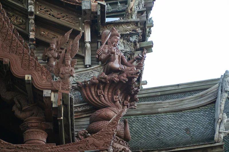 Элементы декора храма истины