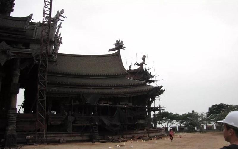 процесс строительства храма Истины
