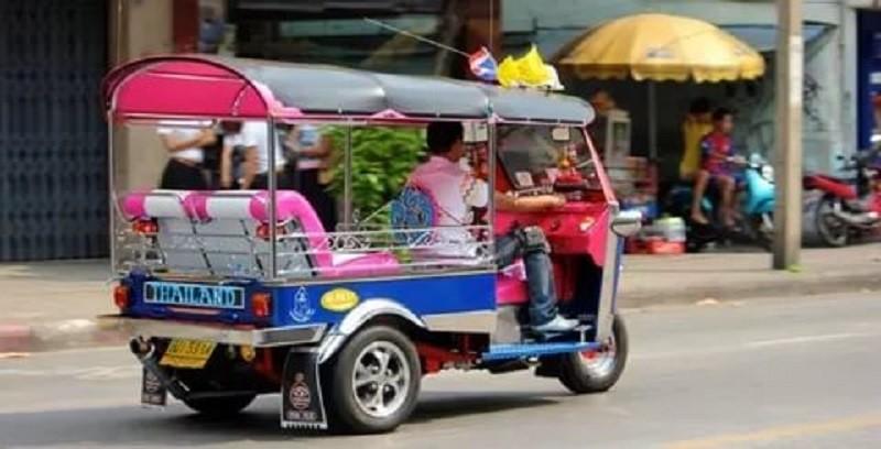 Тук-Тук в Бангкоке.