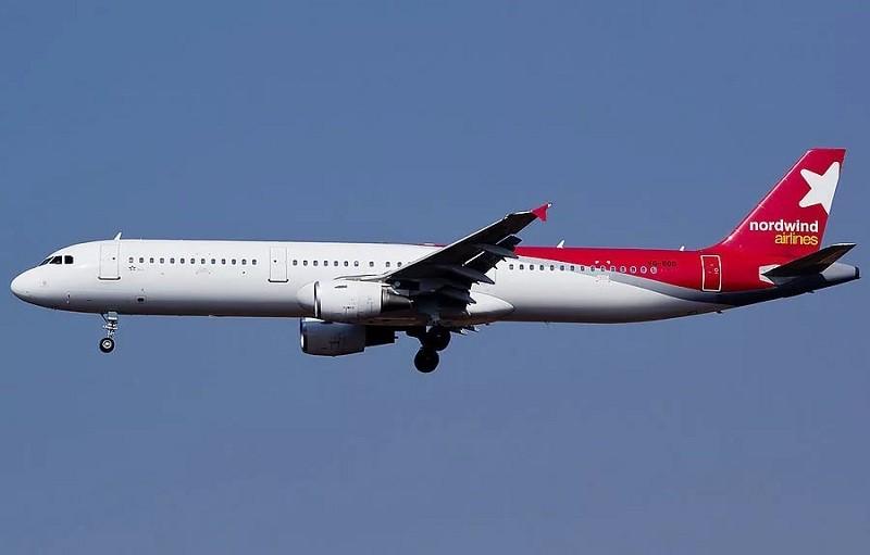 Самолет авиакомпании Nordwind
