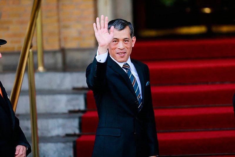 коронация короля таиланда